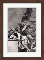 The Sleep of Reason Produces Monsters Fine Art Print