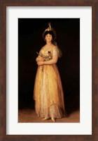 Portrait of Queen Maria Luisa Fine Art Print