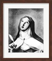 St. Theresa of Avila Fine Art Print