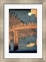 Kyoto Bridge by Moonlight Fine Art Print