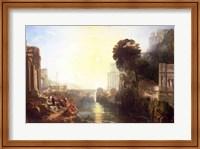 Dido building Carthage Fine Art Print