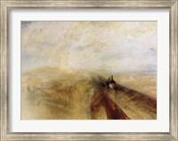 Rain Steam and Speed Fine Art Print