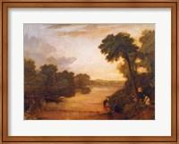 The Thames near Windsor, c.1807 Fine Art Print