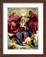 Coronation of the Virgin Fine Art Print