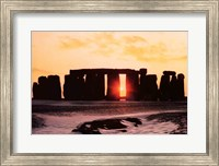 Stonehenge, Winter Solstice Fine Art Print