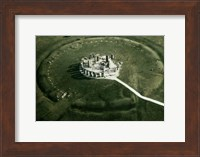 Stonehenge from the air Fine Art Print