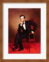 Portrait of Abraham Lincoln Fine Art Print