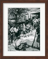 Shays's Mob in Possession of a Courthouse Fine Art Print
