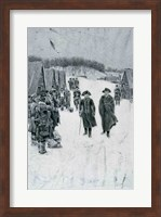 Washington and Steuben at Valley Forge Fine Art Print