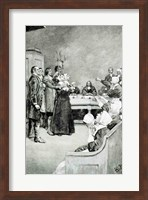 The Trial of a Witch Fine Art Print