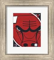 Chicago Bulls Team Logo Fine Art Print