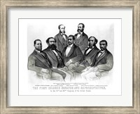 The First Colored Senator and Representatives Fine Art Print