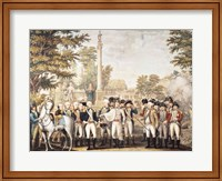 The British Surrendering to General Washington after their Defeat at Yorktown Fine Art Print