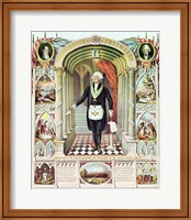 George Washington as a Freemason Fine Art Print