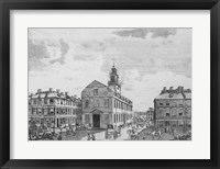 South West View of The Old State House, Boston, 1881 Fine Art Print