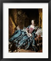 Madame de Pompadour, 1756 Fine Art Print