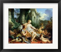 Rinaldo and Armida, 1733 Fine Art Print