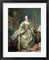 Madame de Pompadour Fine Art Print