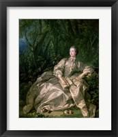 Madame de Pompadour, 1758 Fine Art Print