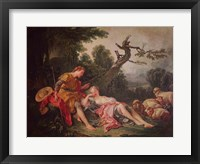 The Sleeping Shepherdess Fine Art Print