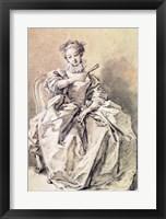 Woman in Spanish Costume Fine Art Print