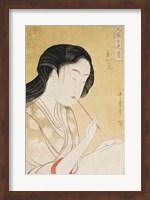Portrait of a Woman Fine Art Print