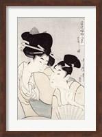 The pleasure of conversation Fine Art Print