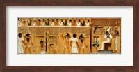 The Weighing of the Heart against Maat's Feather of Truth Fine Art Print