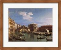 The Rialto Bridge, Venice Fine Art Print