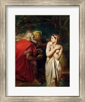 Susanna and the Elders, 1856 Fine Art Print