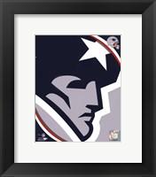 New England Patriots 2011 Logo Fine Art Print