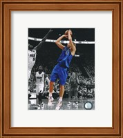 Dirk Nowitzki Game 1 of the 2011 NBA Finals Spotlight Action Fine Art Print