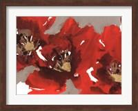 Red Poppy Forest I Fine Art Print