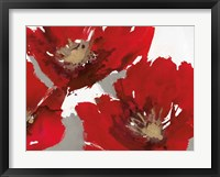 Red Poppy Forrest II Fine Art Print