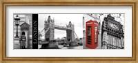 A Glimpse of London Fine Art Print