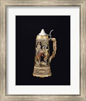 Close-up of a beer stein Fine Art Print