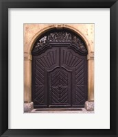 Prague Door III Fine Art Print