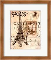 Paris Collage I Fine Art Print