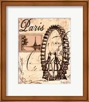 Paris Collage III Fine Art Print