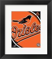 2011 Baltimore Orioles Team Logo Fine Art Print