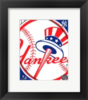2011 New York Yankees Team Logo Fine Art Print