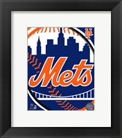2011 New York Mets Team Logo Fine Art Print