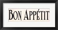 Bon Appétit I Fine Art Print