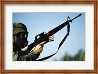 Marksman M-16 Rifle Fine Art Print
