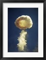 Mushroom cloud formed bomb testing Fine Art Print