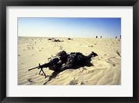 Saudi Arabia: Members of the 1st BN During Desert Shield Fine Art Print