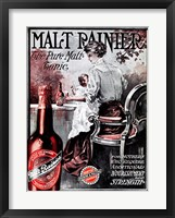 Malt Rainier Beer Fine Art Print