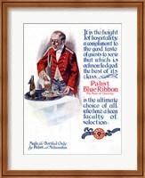 Pabst Blue Ribbon Beer 1911 Fine Art Print