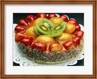 Close-up of a cheesecake Fine Art Print