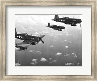 Fighter planes in flight, US Marine Corps Fine Art Print